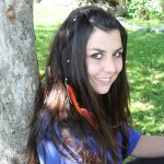 Ramona feather hair clip