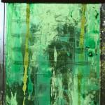 HOPESONG - float glass paining